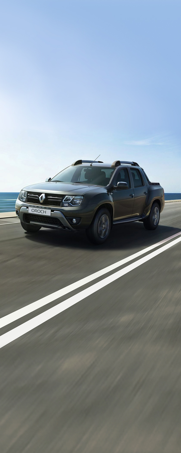 Renault Duster OROCH - power to try everything
